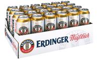 Erdinger Weissbier mit feiner Hefe 5,3% Vol. 24 x 50 cl Dose