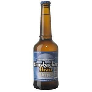 Erusbacher Bräu Urtyp Bier Aargau 4,9% Vol. 20 x 33 cl MW Flasche