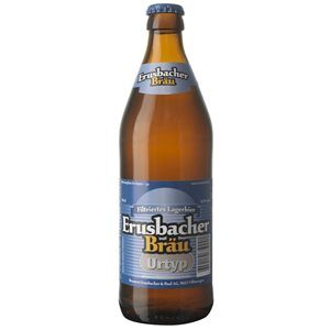 Erusbacher Bräu Urtyp Bier Aargau  4,9% Vol. 20 x 50 cl MW Flasche