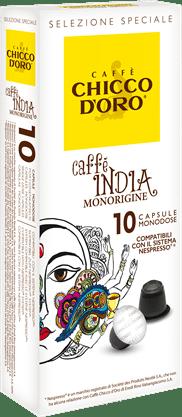 chicco d'oro caffè india Caffè Kapseln 10 Pakete mit je 10 Kapseln