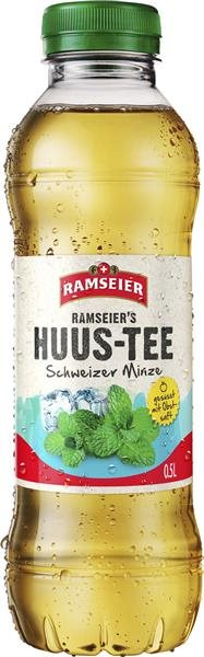 Ramseier Huus-Tee Minze 24 x 50 cl PET