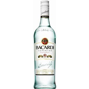 Rum Bacardi Carta Blanca 37% Vol. 150 cl Bahamas