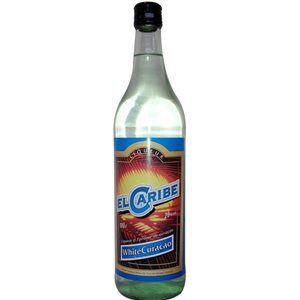 Curacao White El Caribe ( weiss ) 20% Vol. 100 cl