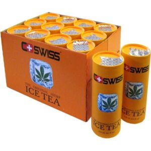 Cannabis Ice Tea Dosen 12 x 25 cl