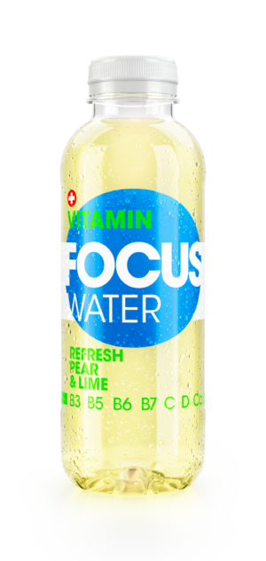 Focus water Refresh Pear Birne & Lime 12 X 50 cl PET