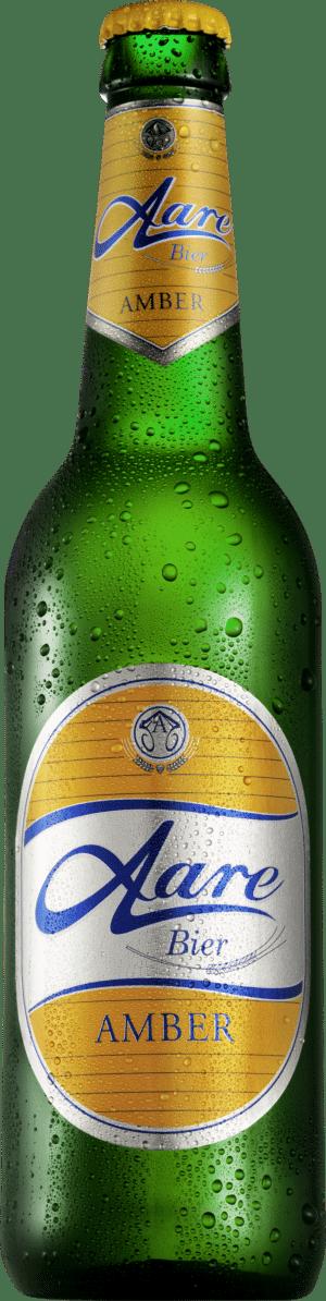 Aare Bier Amber 5% Vol. 24 x 33cl EW Flasche