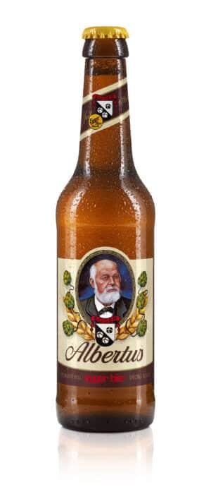 Egger Bier Albertus hell 5,2% Vol. 24 x 33 cl EW Flasche