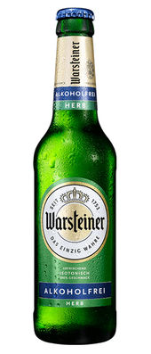 Warsteiner Herb alkoholfrei < 0,5% Vol. 24 x 33 cl MW Flasche