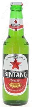 Bintang Beer 4,7% Vol. 24 x 33 cl EW Flasche Indonesien