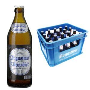 Augustiner Weissbier 5,4% Vol. 20 x 50 cl MW Flasche