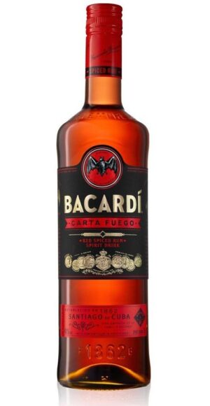 Rum Bacardi Fuego Red Spiced 40% Vol. 70cl Bahamas