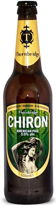 Thornbridge Brewery Chiron American Pale Ale 5,0% Vol. 12 X 33 cl EW Flasche