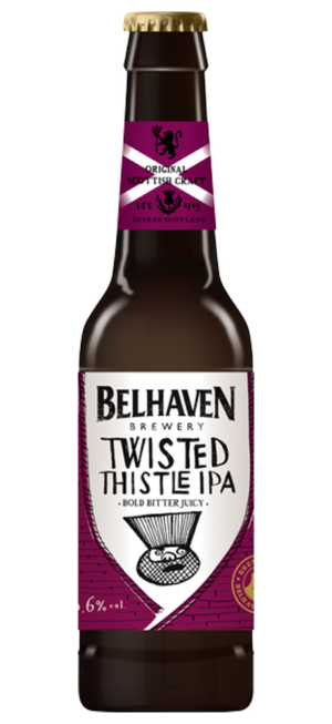 Belhaven Craft Twisted Thistle IPA 5,6% Vol. 12 x 33 cl EW Flasche Scotland