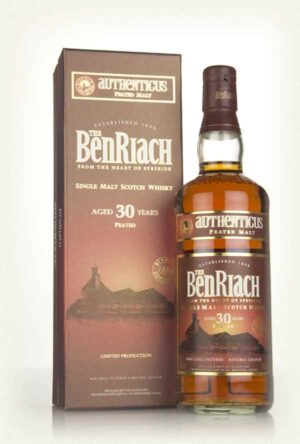 Whisky BenRiach 30 years Authenticus Peated 46,0% Vol. 70 cl