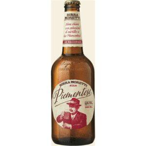 Birra Moretti Piemontesa 5.5% Vol. 15 x 50 cl EW Flasche