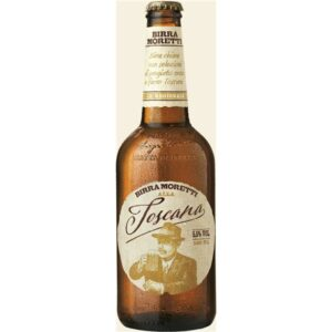 Birra Moretti Toscana 5.5% Vol. 15 x 50 cl EW Flasche