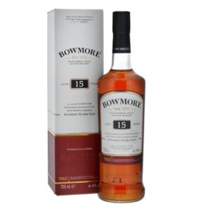 Whisky Bowmore Single Malt Islay 15 years  43% Vol. 70 cl