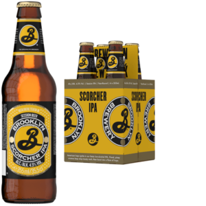 BROOKLYN Scorcher IPA 4,5% Vol. 24 x 35,5 cl EW Flasche