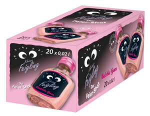 Kleiner Feigling Bubble Gum 20% Vol. 20 x 2cl