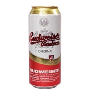 Budweiser Budvar beer 24 x 50 cl Dose Tschechische Republik