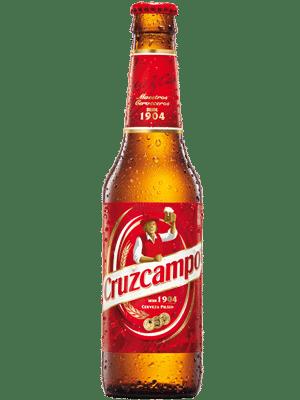 Cruzcampo 4.8 % Vol. 24 x 33cl EW Flasche Spanien
