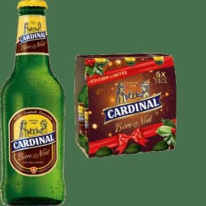 Cardinal Weihnachtsbier 5,4% Vol. 24 x 33 cl EW Flasche