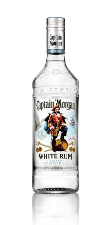 Captain Morgan White Rum 37,5% Vol. 70 cl