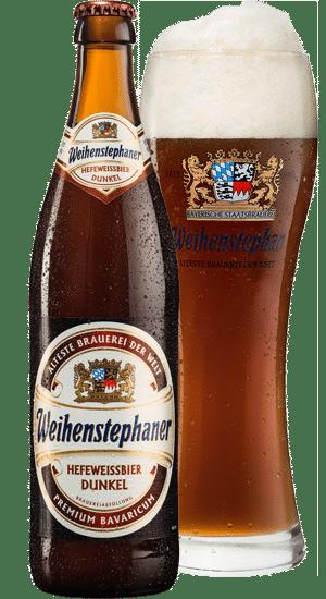 Weihenstephaner Hefe-Weissbier Dunkel 5,3% Vol. 20 x 50 cl MW Flasche