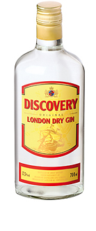 Discovery London Dry Gin 37,5% Vol. 70 cl