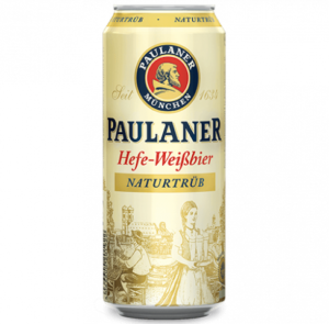 Paulaner Hefe Weissbier 24 x 50 cl Dose