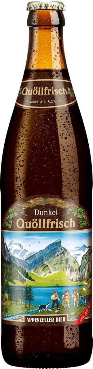 Appenzeller Dunkel 5,2% Vol. 50 cl MW Flasche