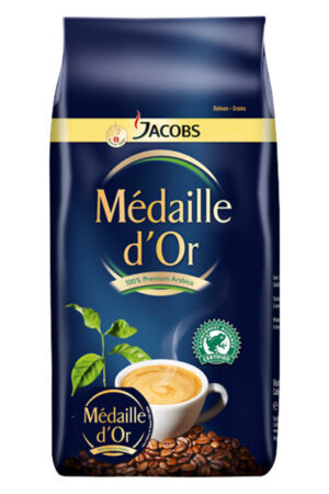Jacobs Médaille d'Or, Bohnen, Rainforest Alliance 8 x 1 kg