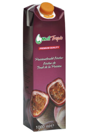 Meli Passionsfrucht / Nektar Saft 25% 12 x 100 cl Tetra