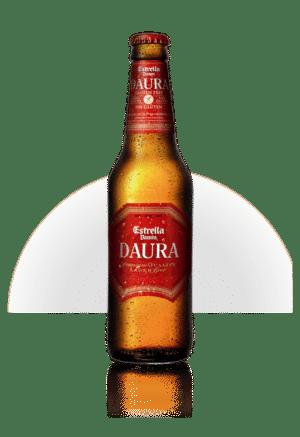 Estrella Daura glutenfreies Bier 5,4% Vol. 24 x 33 cl EW Flasche Spanien