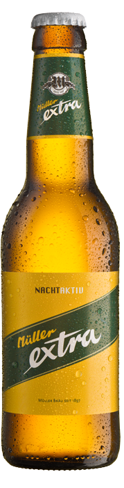Müllerbräu Extra NachtAktiv 5,2% Vol. 24 x 33 cl MW Flasche