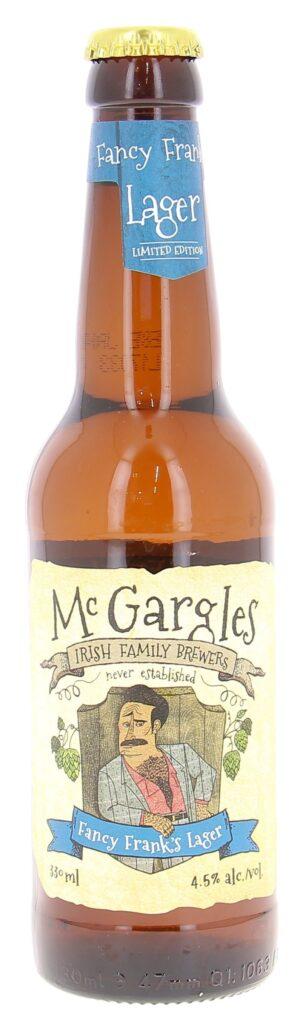 Mc Gargles Fancy Frank's Lager 4,5% Vol. 24 x 33 cl EW Flasche