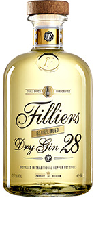 Filliers Dry Gin 28 Barrel Aged 43,7% Vol. 50 cl