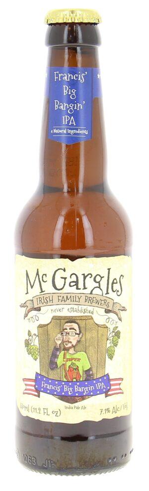Mc Gargles Francis IPA 7,1% Vol. 24 x 33 cl EW Flasche