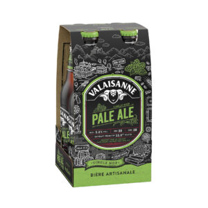 Valaisanne Pale Ale 5,2% Vol. 4 x 33 cl EW Flasche