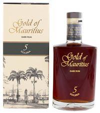 Gold of Mauritius Dark Rum Solera 5 40% Vol. 70 cl Mauritius