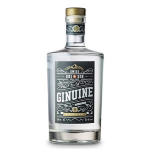 Ginuine Gin Alpine Herbs 40% Vol. 70 cl Swiss Original