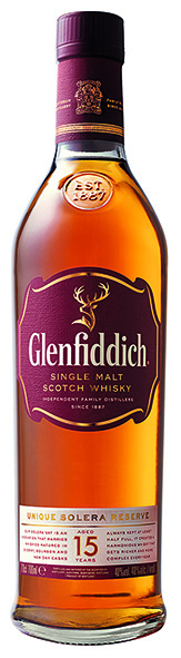 Glenfiddich 15 Years Single Malt Whisky 40% Vol. 70 cl