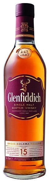 Glenfiddich 15 Years Single Malt Whisky 40% Vol. 70 cl