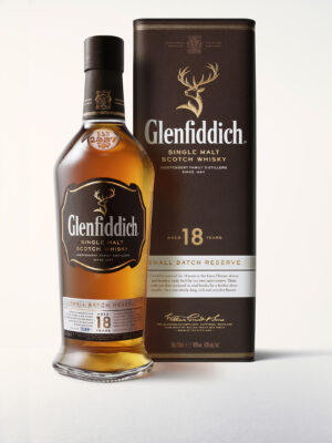 Glenfiddich 18 Years Ancient Reserve Pure Malt Whisky 40% Vol. 70 cl