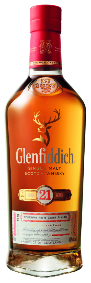 Glenfiddich 21 Years Pure Malt Whisky Gran Reserva 40% Vol. 70 cl
