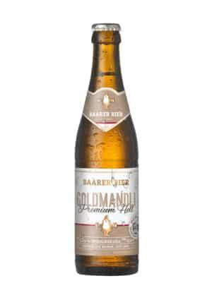 Baarer Goldmandli Premium Hell 5,2% Vol 24 x 33 cl EW Flasche