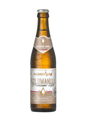 Baarer Goldmandli Premium Hell 5,2% Vol 10 x 33 cl MW Flasche