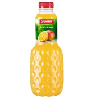 Granini Orange / Mango 6 x 100 cl PET-Flasche