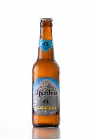 """Einsiedler Alpenbier naturtrüb """"Bio"""" 10 x 30 cl MW Flasche"""