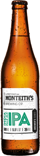 Monteith's IPA 5.5% Vol. 20 x 33 cl EW Flasche Neuseeland